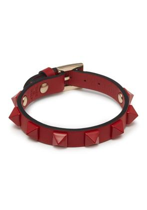 'Rockstud' leather bracelet