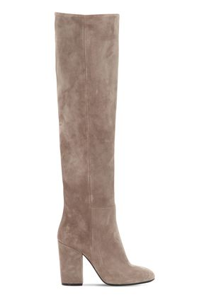 90MM SUEDE TALL BOOTS