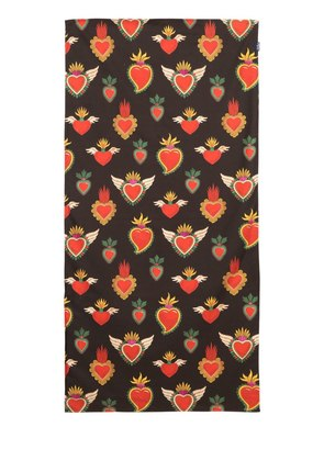SACRED HEART MICROFIBER BEACH TOWEL
