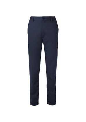 Beams Plus - Slim-fit Striped Twill Trousers - Navy
