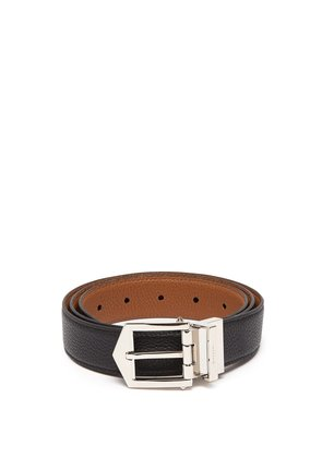 Obsedia reversible leather belt