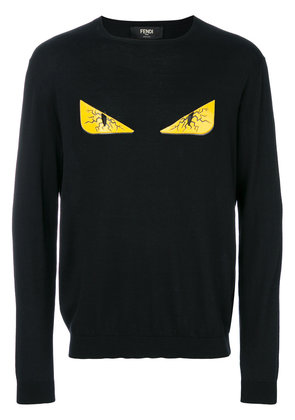 Fendi Bag Bugs sweatshirt - Black