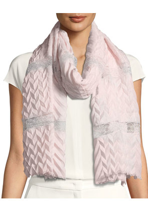 Pure Affection Wool-Silk Stole