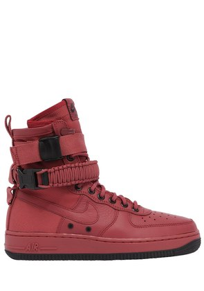 SF AIR FORCE 1 HIGH TOP SNEAKERS