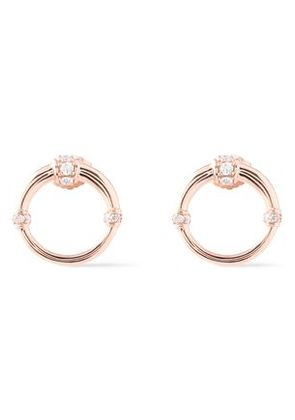 Carbon & Hyde Woman Dharma 14-karat Rose Gold Diamond Earrings Rose Gold Size -