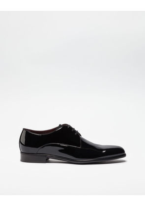 Dolce & Gabbana Lace-Ups - PATENT LEATHER DERBY BLACK