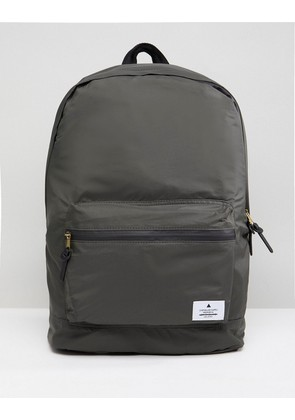 ASOS Backpack In Khaki With Patch - Khaki