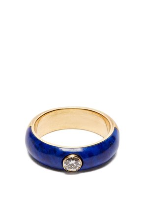 Belsa diamond and 18kt gold ring