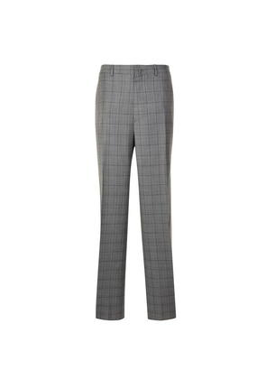 LANVIN Check Trousers