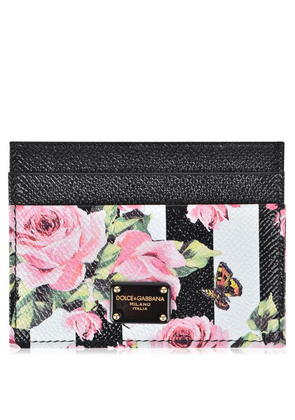 DOLCE AND GABBANA Floral Card Holder