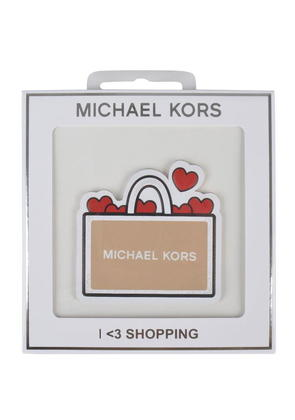 MICHAEL MICHAEL KORS Shopping Bag Leather Sticker