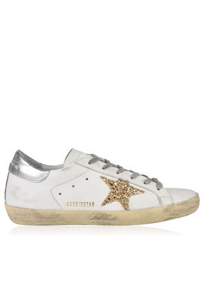 GOLDEN GOOSE DELUXE BRAND Glitter Star Trainers
