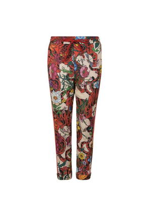 GUCCI Tiger Floral Jogging Bottoms