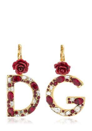 D&G CRYSTAL EARRINGS