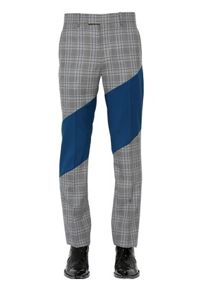 20CM BEDFORD CHECK COOL WOOL PANTS