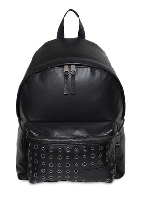 24L PADDED PAK'R EYELET LEATHER BACKPACK