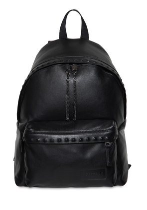 24L PADDED PAK'R STUDS LEATHER BACKPACK