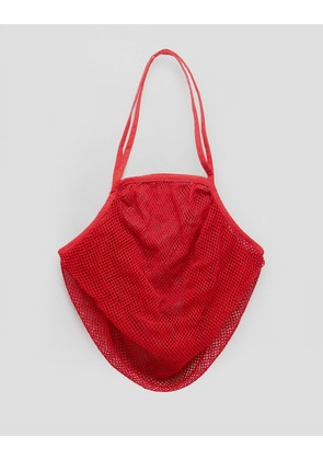 ASOS BEACH String Bag In Red - Red