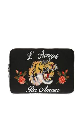 Gucci Embroidered clutch