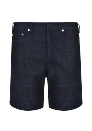 NEIL BARRETT Biker Denim Shorts
