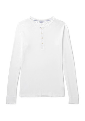 Karl Heinz Cotton-jersey Henley T-shirt