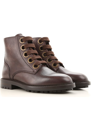 Dolce & Gabbana Boots for Men, Booties On Sale, Brown, Leather, 2017, 10.5 6.5 7 8 8.5 9 9.5