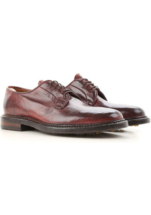 Oxford Shoes for Men On Sale, Bordeaux, Leather, 2017, 7 8 9.25 Officine Creative