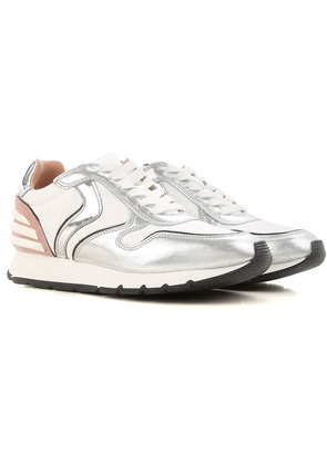 Sneakers for Women On Sale, White, Nylon, 2017, 6.5 Voile Blanche