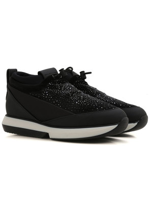 Alexander Smith Sneakers for Women On Sale, Black, Leather, 2017, 4.5 5.5