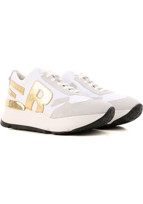 Sneakers for Women On Sale, White, Leather, 2017, 4.5 5.5 7.5 Ruco Line