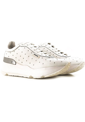 Sneakers for Women On Sale, White, suede, 2017, 2.5 3.5 4.5 5.5 7.5 Ruco Line