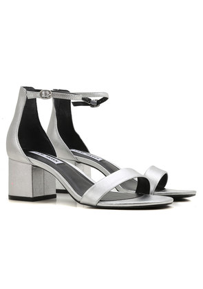 Sandals for Women On Sale, Silver, Patent Leather, 2017, 3.5 5.5 6.5 7.5 Steve Madden