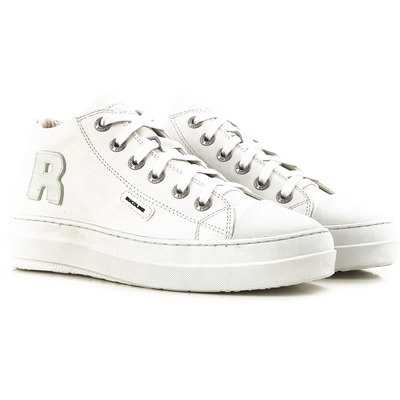 Sneakers for Women On Sale, White, Leather, 2017, 3.5 4.5 5.5 Ruco Line