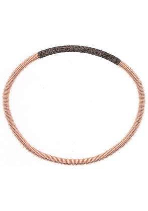 Pesavento Bracelet for Women, Rose Gold, Silver, 2017, One Size