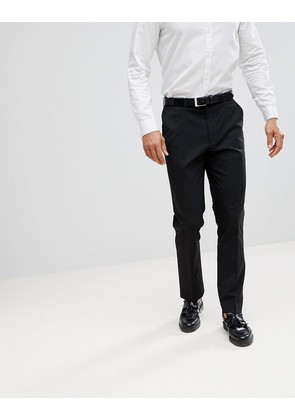 ASOS Slim Smart Trousers In Black - Black