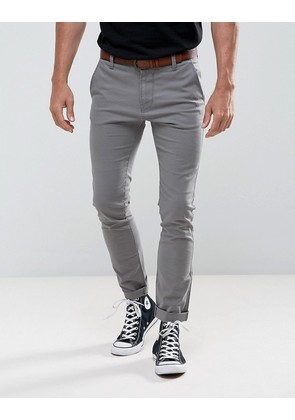 Tom Tailor Skinny Chino With Belt - 2801