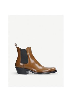Western Chris Abrasivato leather Chelsea boot