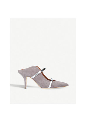 Maureen strappy suede mules