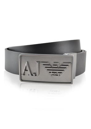 ARMANI JEANS Eagle Reversible Leather Belt