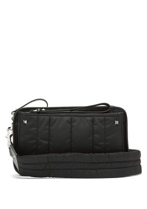 Rockstud padded cross-body bag