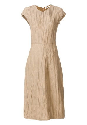 Jil Sander casual midi dress - Nude & Neutrals