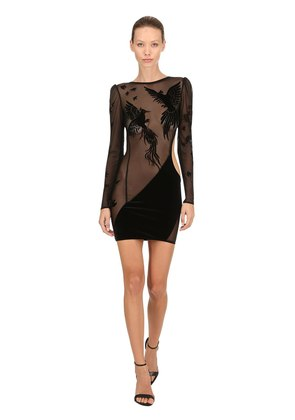 THE PHOENIX CUTOUT MINI DRESS