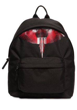 WINGS BARCODE PRINTED TECH BACKPACK