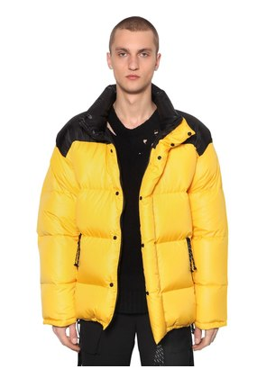 REVERSIBLE COLOR BLOCK DOWN JACKET