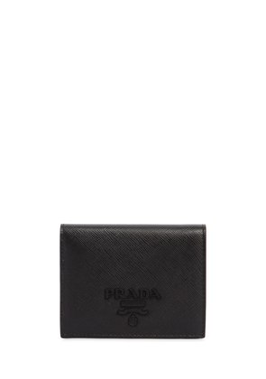 SMALL SAFFIANO LEATHER SNAP WALLET