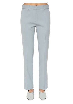 WOOL CREPE PANTS