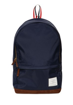 SOFT TECH NYLON & SUEDE BACKPACK