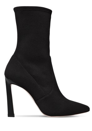 100MM RAPTURE KNIT SOCK ANKLE BOOTS