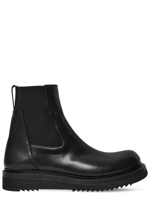 30MM LEATHER CHELSEA BOOTS