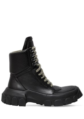 40MM LEATHER HIKING SNEAKER BOOTS
